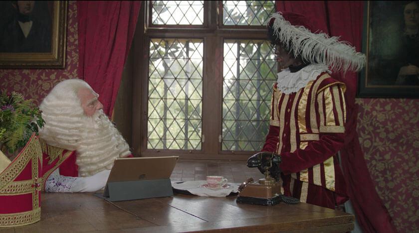 Sinterklaashaar | Sinterklaas en Zwarte Piet haarwerken